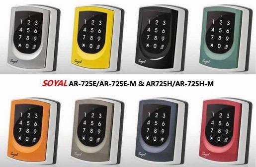 ชุดประตูคีย์การ์ด Soyal AR-725H/AR-725H-M